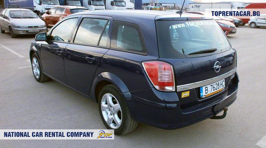 Opel Astra - vue arrière