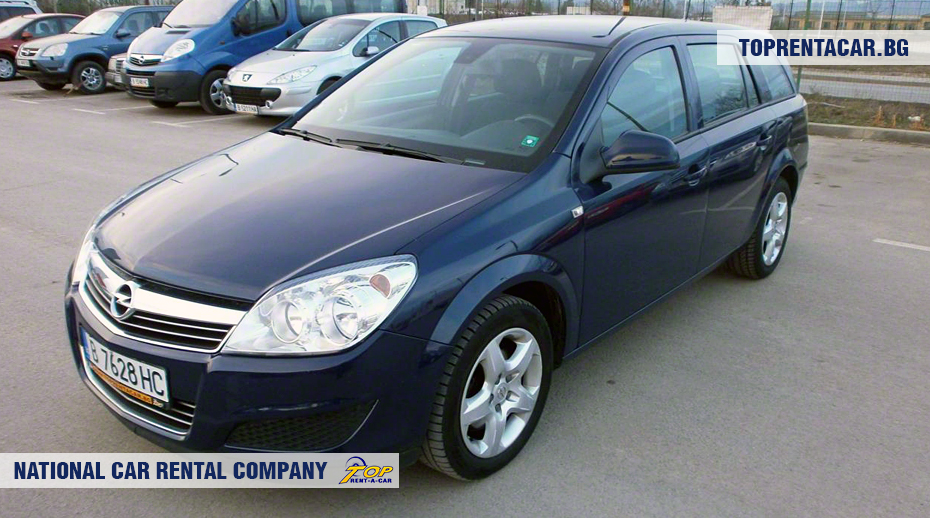 Opel Astra- vue frontale