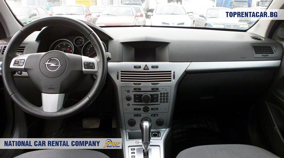 Opel Astra - vue de l'intérieur